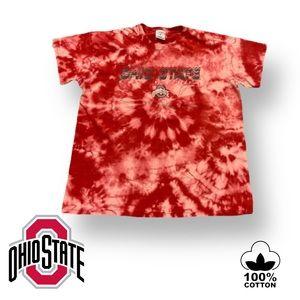 🎉HP🎉 OH State Buckeyes Custom Tie Dye T-Shirt